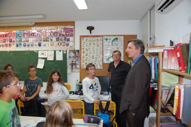 Le directeur académique visite les écoles de L'Ile-Rousse