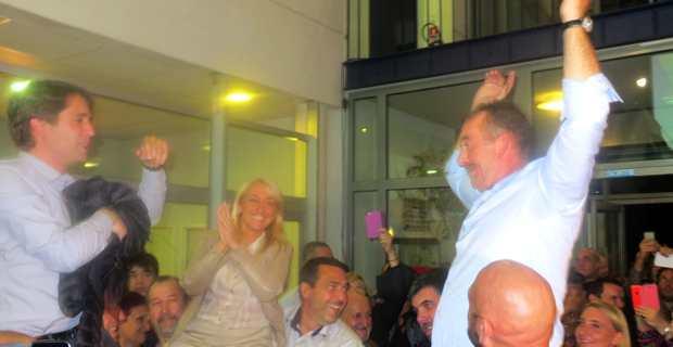 Elections départementales Bastia III : José Gandolfi et Emmanuelle De Gentili élus !