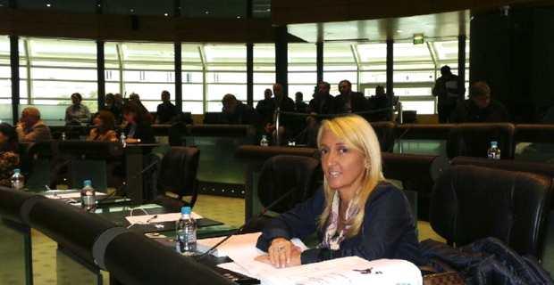 Emmanuelle De Gentili, 1ére adjointe à la mairie de Bastia, secrétaire nationale du Parti socialiste, siège pour la première fois au Conseil départemental. Elle a choisi de rejoindre les rangs de l'opposition et des non-inscrits.
