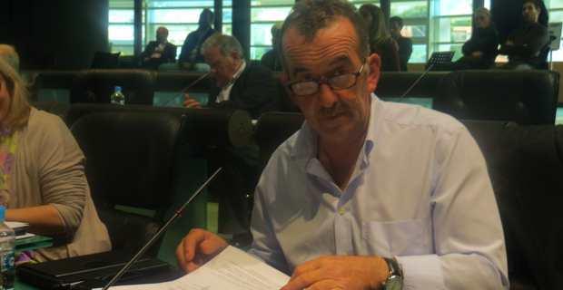 Retour de José Gandolfi à son siège de conseiller départemental d'Inseme per Bastia.