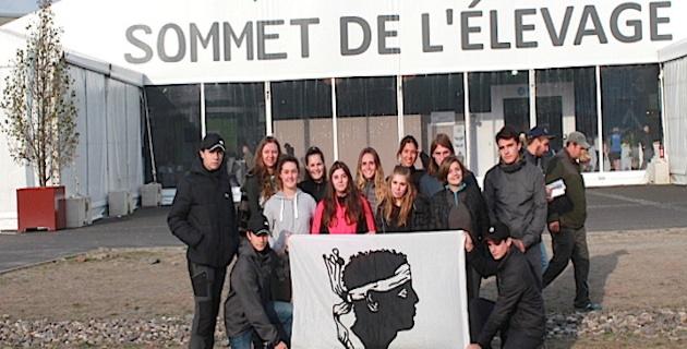 Les élèves du lycée agricole de Borgo au sommet de l'élevage