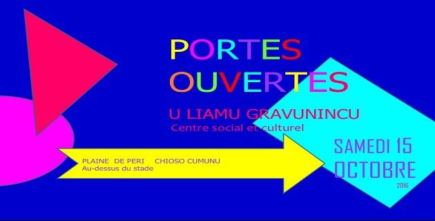 Portes ouvertes au  centre social et culturel U Liamu Gravunincu