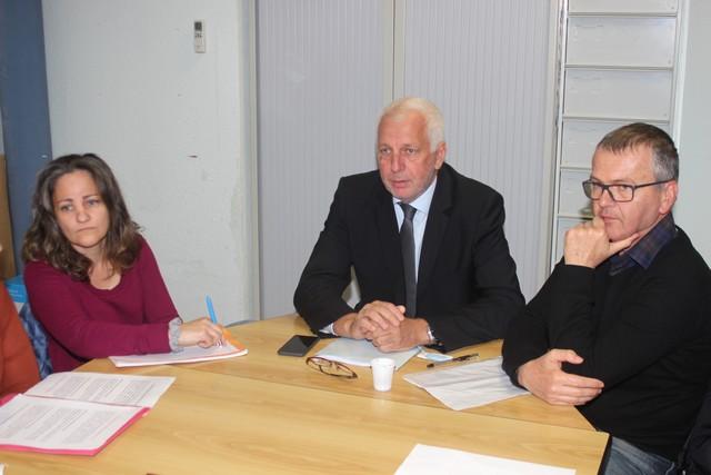 Saveriu Luciani au Collège de Calvi pour le développement de l'enseignement bilingue dans le secondaire