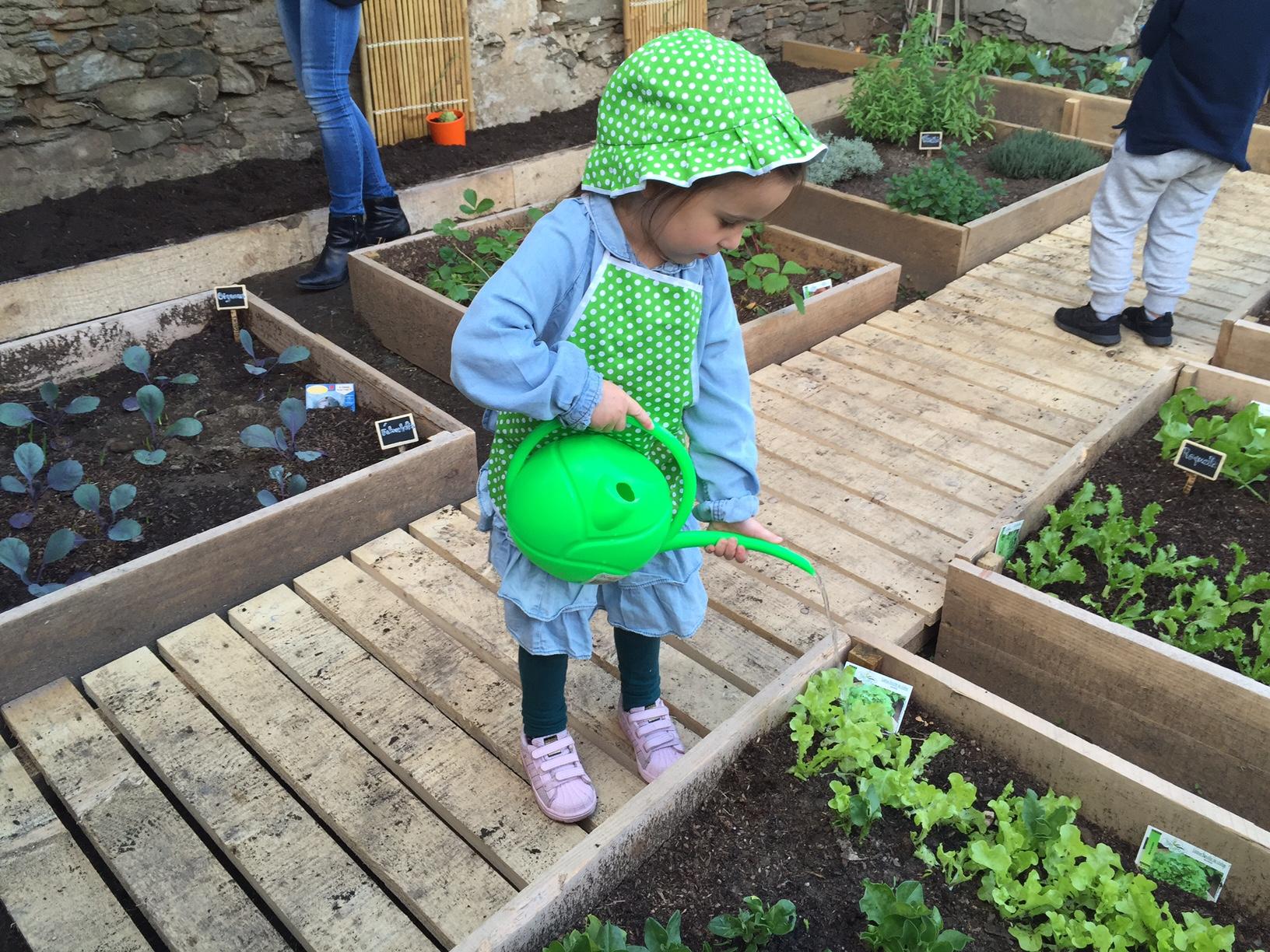 A l'Ecole de Cardu, les élèves sont des jardiniers en herbe