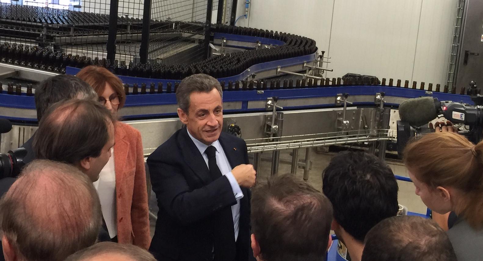 Nicolas Sarkozy : La Haute-Corse au pas de course