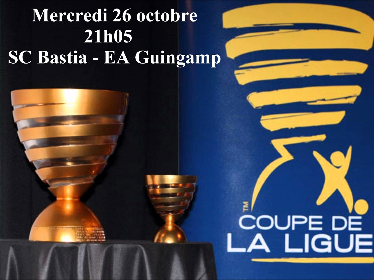 Coupe de la Ligue : Bastia accueille Guingamp