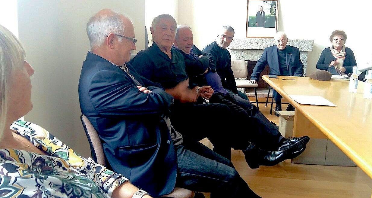 Antoine Ciosi le maire et ses adjoints