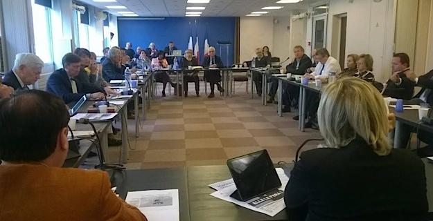 Présentation du plan pour la Corse au Bureau politique du FN.