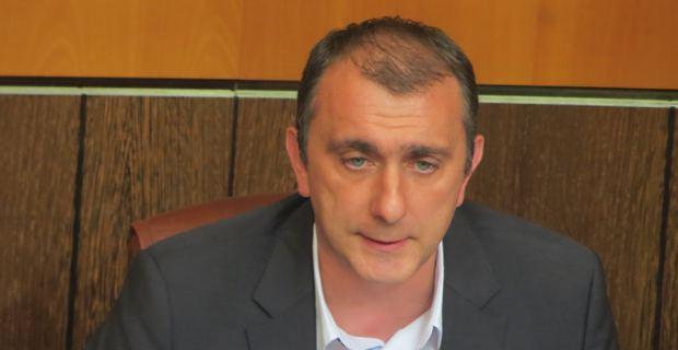 Jean-Christophe Angelini, conseiller exécutif et président de l'Agence de développement économique de la Corse (ADEC).