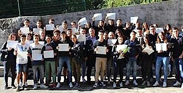 Collège Jeanne d'arc de Bastia : Cérémonie républicaine de remise du DNB
