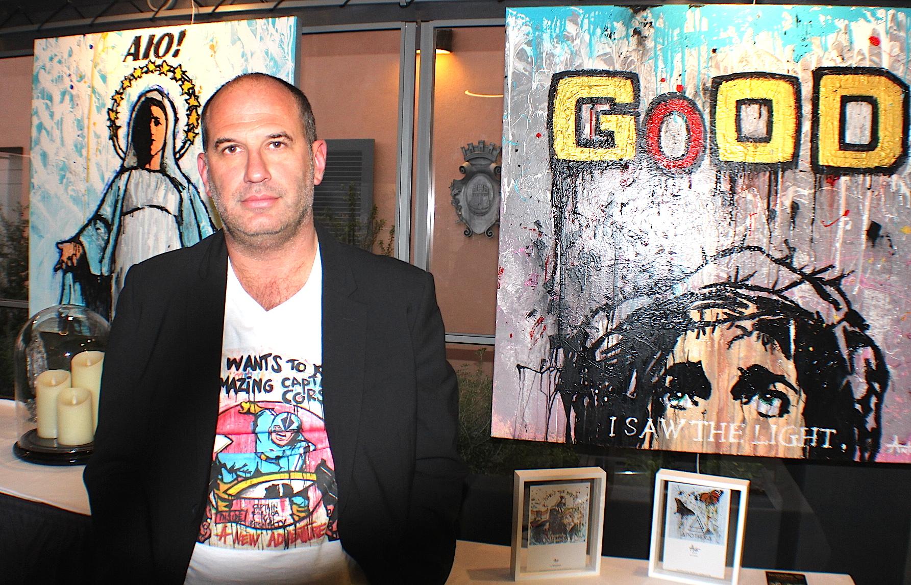 Bastia : Quand Antò fils de Pop expose à l'Hôtel des Gouverneurs