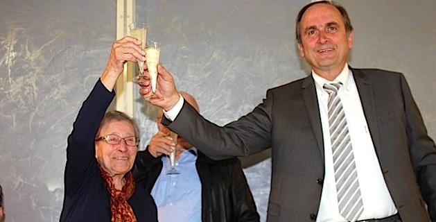 Charlotte Cunéo, nouvelle centenaire de la commune, fêtée à Calenzana