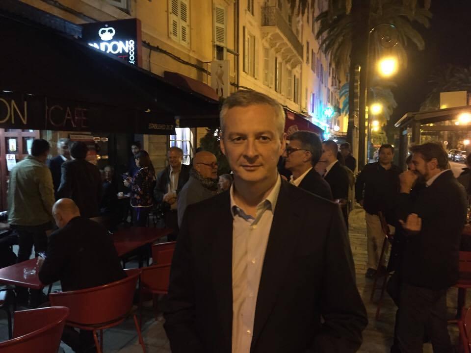 """Bruno Le Maire en Corse : """"C'est aux juges de décider du rapprochement des prisonniers politiques"""""""