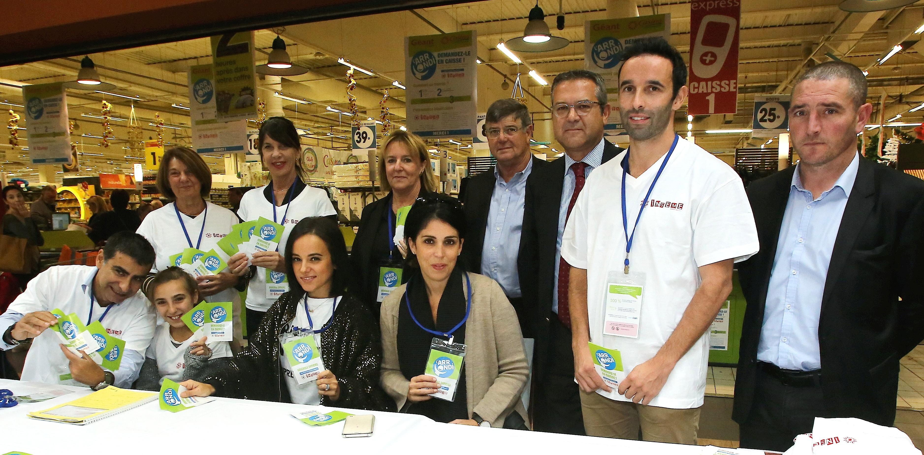 Géant Casino de Mezzavia : « Inseme » relance l'opération « Arrondi » avec Alizée