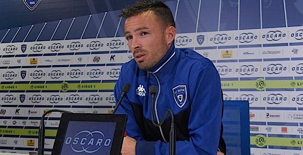 Gaël Danic - milieu de terrain du SCB