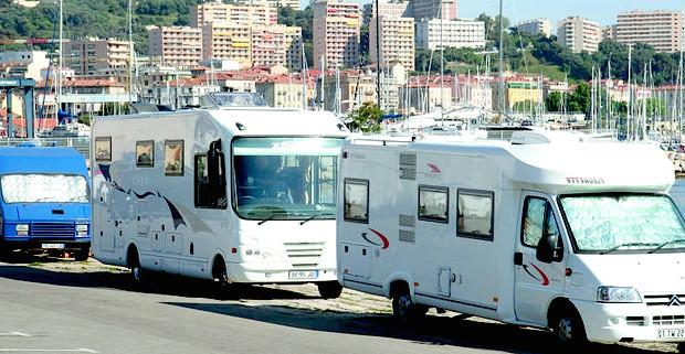 Plus de 67 000 campings car transportés l'été entre Corse et Continent