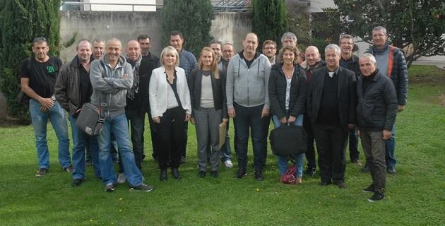 AFPA de la Haute Corse et la Chambre de Métiers de la Corse du Sud : Remise du titre professionnel d'agent d'entretien du bâtiment