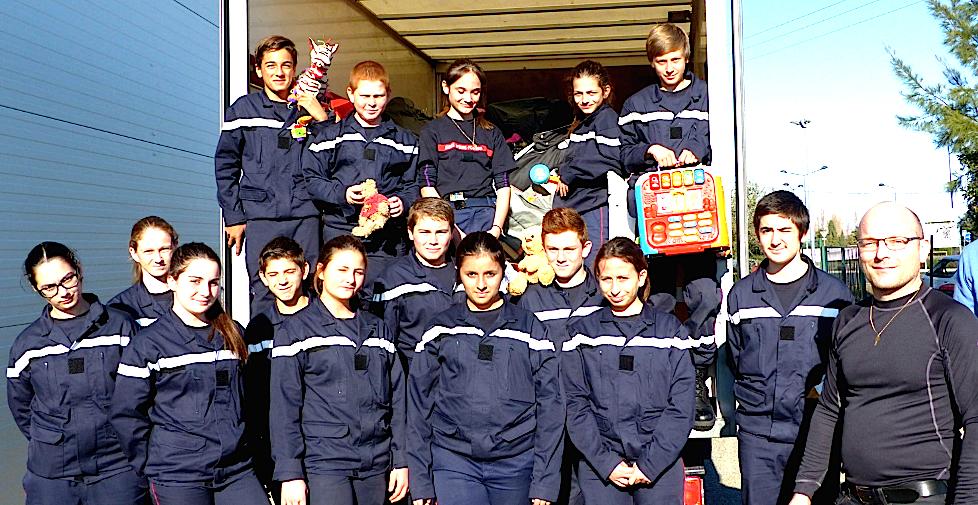 La collecte de jouets des Jeunes Sapeurs-Pompiers Plaine va débuter !