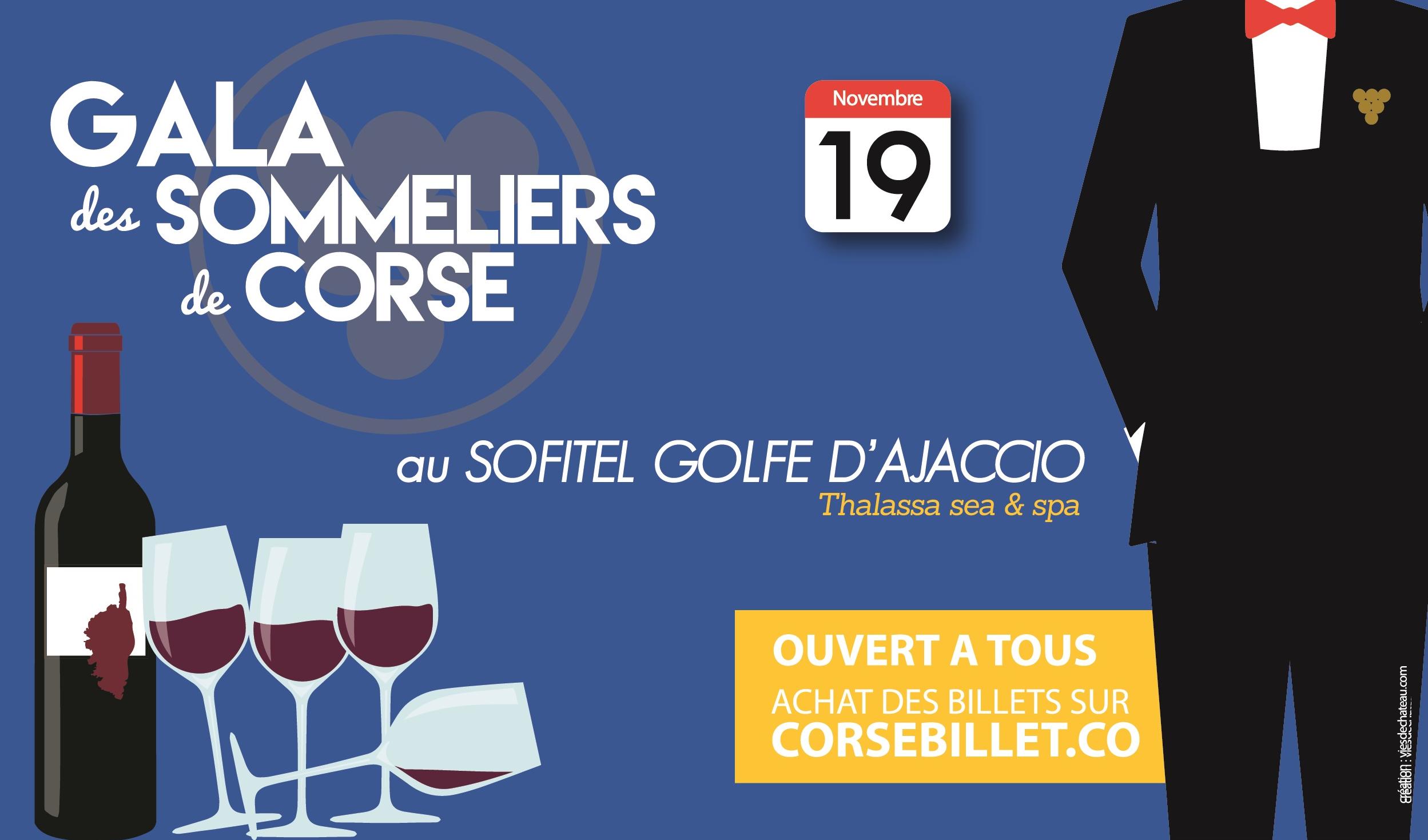 Le gala des sommeliers de Corse ouvre ses portes au public
