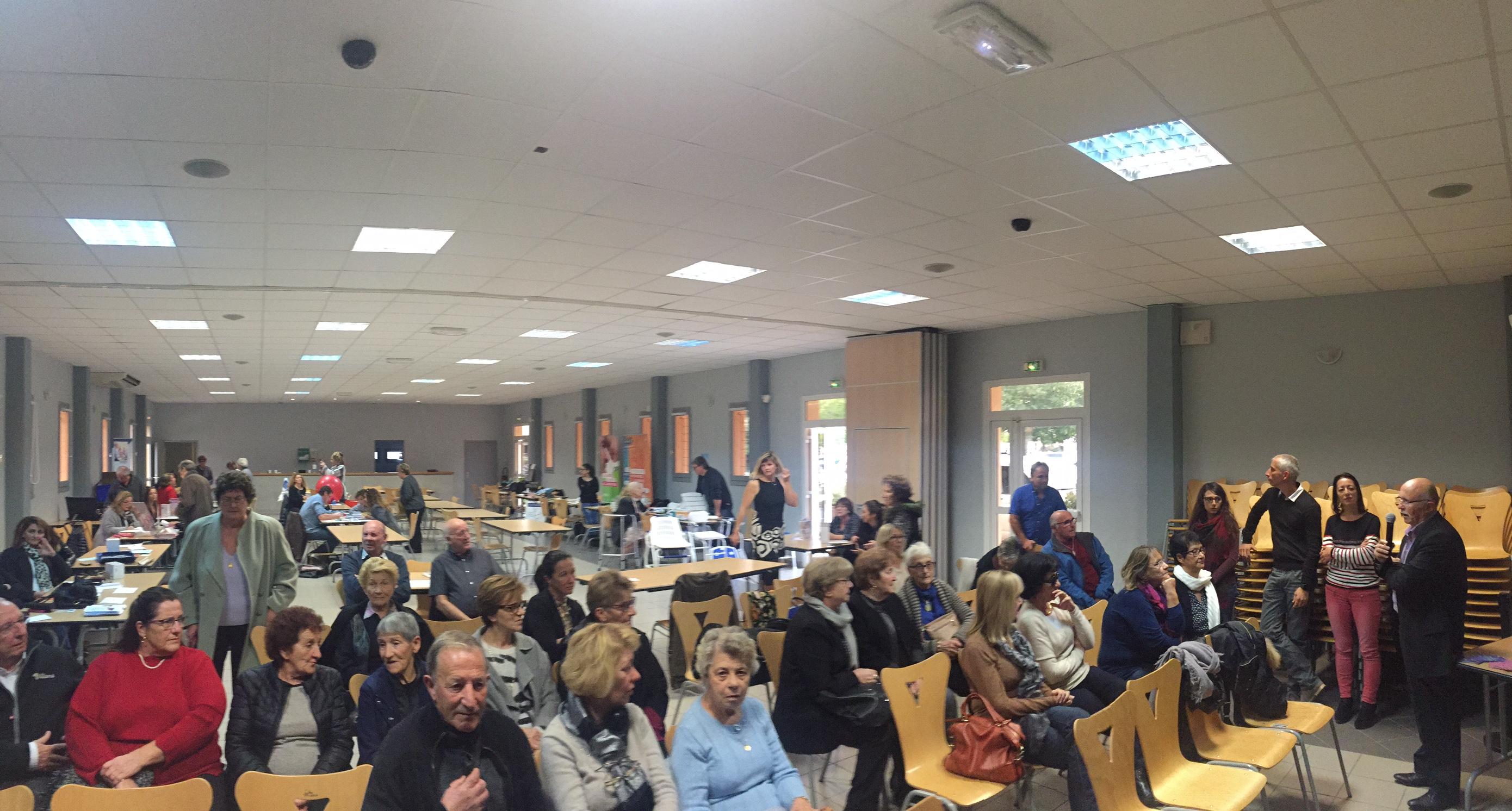 Journée bleue consacrée aux personnes âgées ce mercredi à Ghisonaccia.
