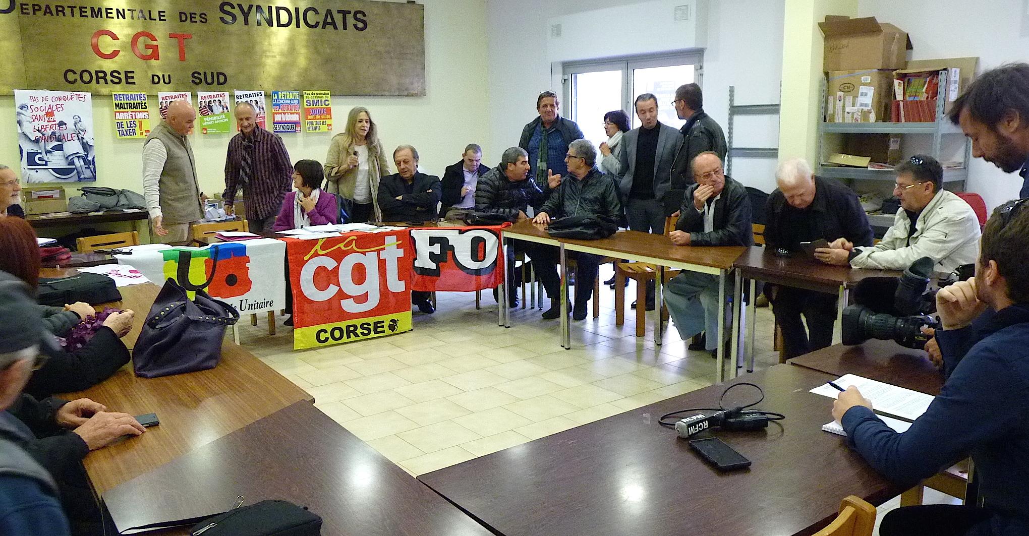 Le mécontentement des retraités de Corse : Aucune revendication n'est prise au sérieux !