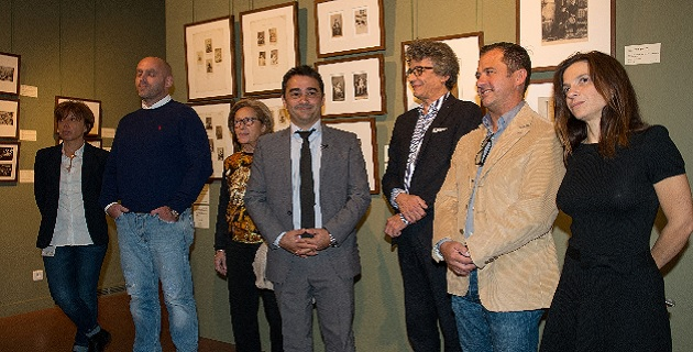 Présentation de la collection en présence de Stéphane Sbraggia 1er adjoint à la Ville