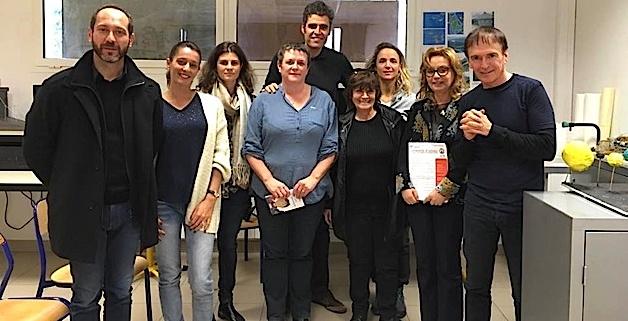 Jean-François Bernardini à la rencontre des collègiens de Moltifao