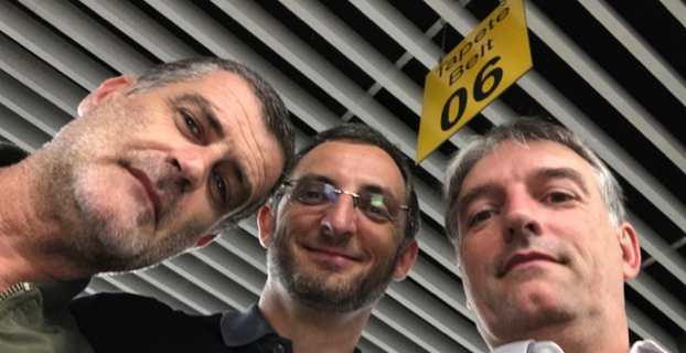 Jérome Pietri, Marc Simeoni et Sébastien Simoni.