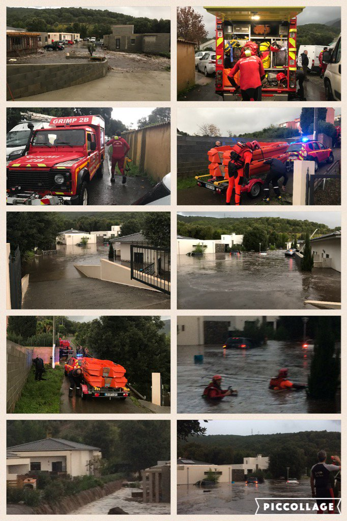 Les interventions des pompiers à Biguglia, Borgo et Lucciana (@sdis2B)