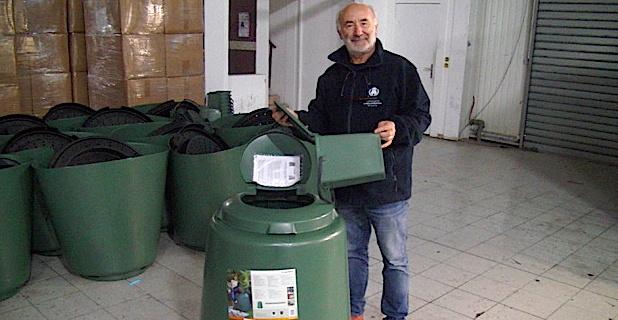 Bastia : Distribution gratuite de composteurs