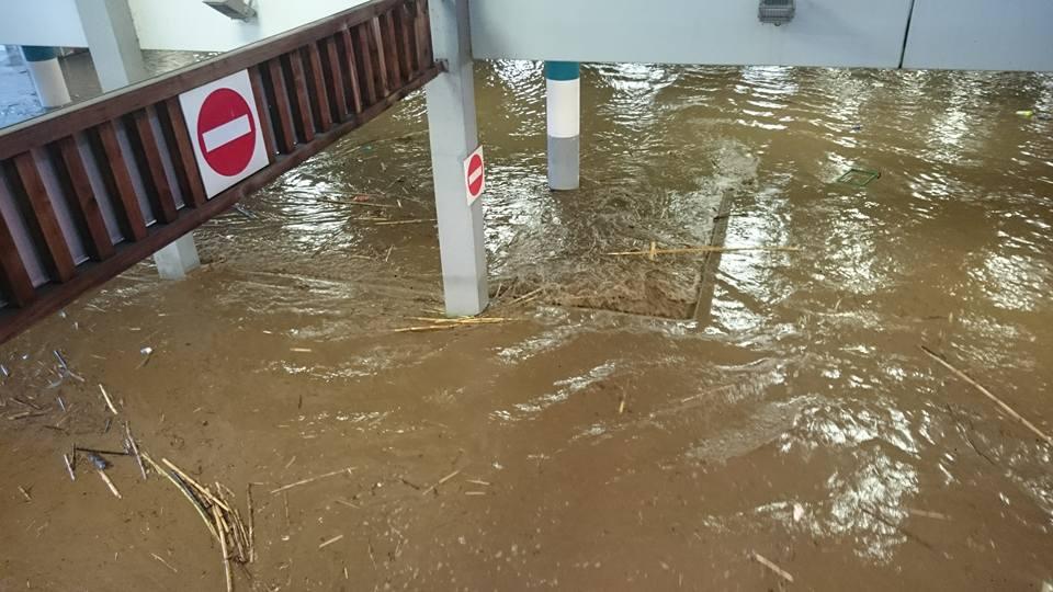 Déluge sur la Haute-Corse : 107 mises en sécurité et 10 sauvetages réalisés