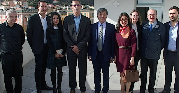 Le nouveau Consul général de Chine à Bastia !