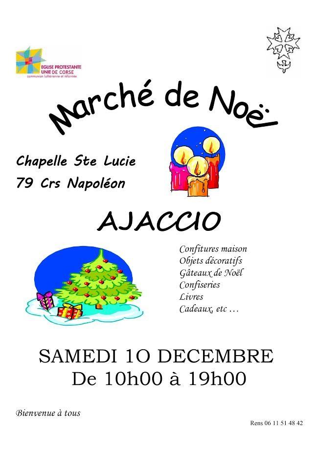 L'église protestante de Corse organise son marché de Noël