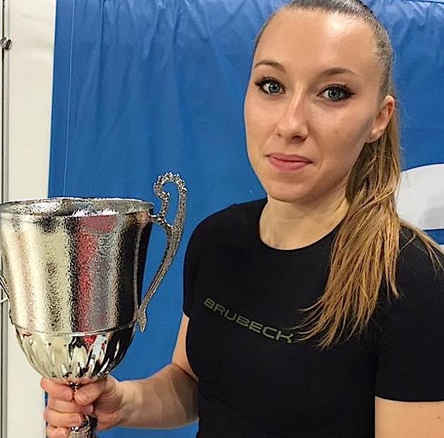 La coupe de France pour Alexandra
