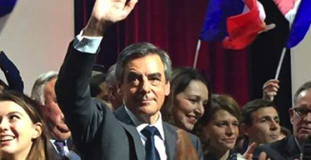 François Fillon, candidat de la droite et du centre aux élections présidentielles de 2017.