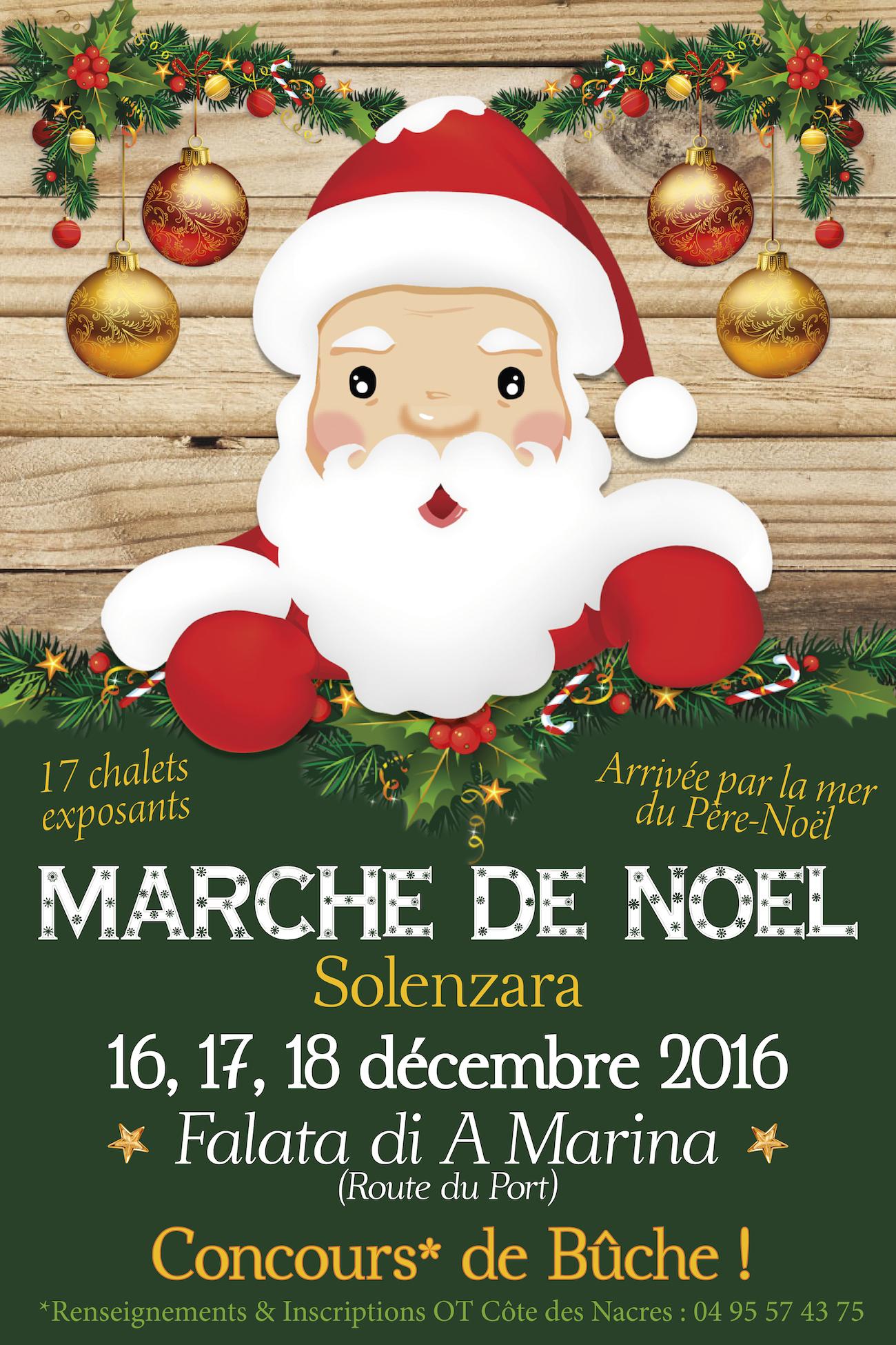Solenzara : Marché de Noël les 16,17 et 18 Décembre