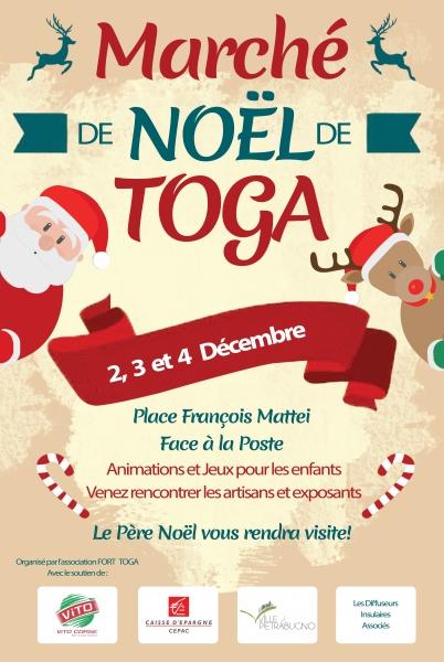 Ville di Pietrabugno : C'est parti pour le deuxième marché de Noël de Toga