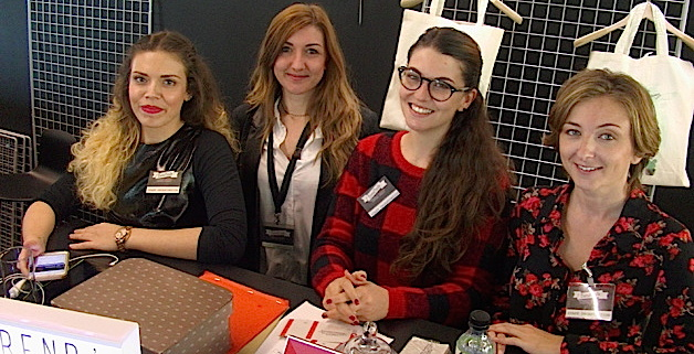 Maéva, Aurélie, Noémie et Florence : la dynamique équipe de Trend'isula