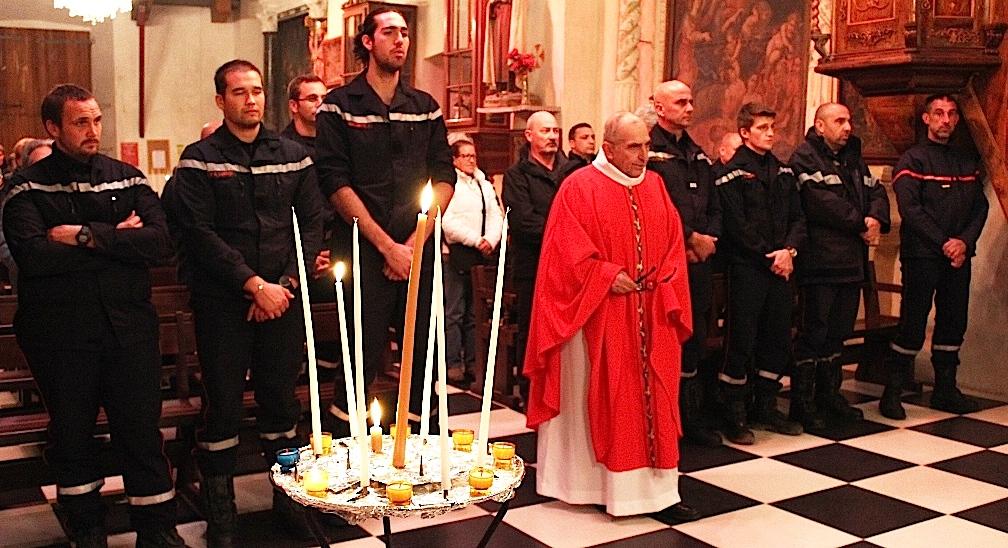 Les sapeurs-pompiers d'Olmi-Cappella ont fêté la Sainte-Barbe