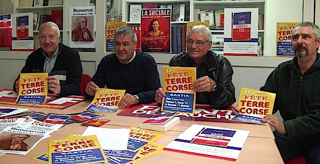 Bastia : Quatre jours de conférences et débats pour la 57ème fête de Terre Corse