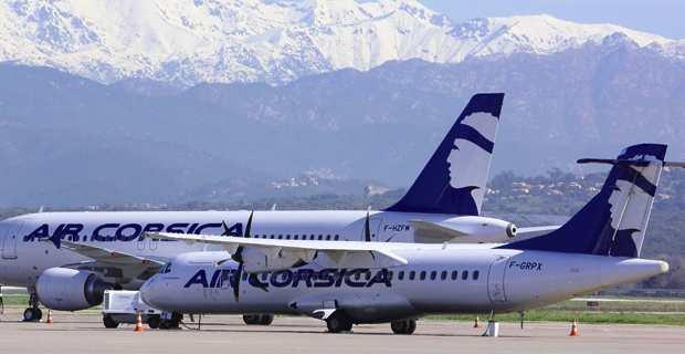 Air Corsica : 69 000 places à 39 € !