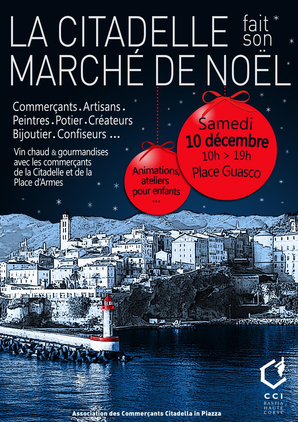 Bastia : La Citadelle fait son marché de Noël