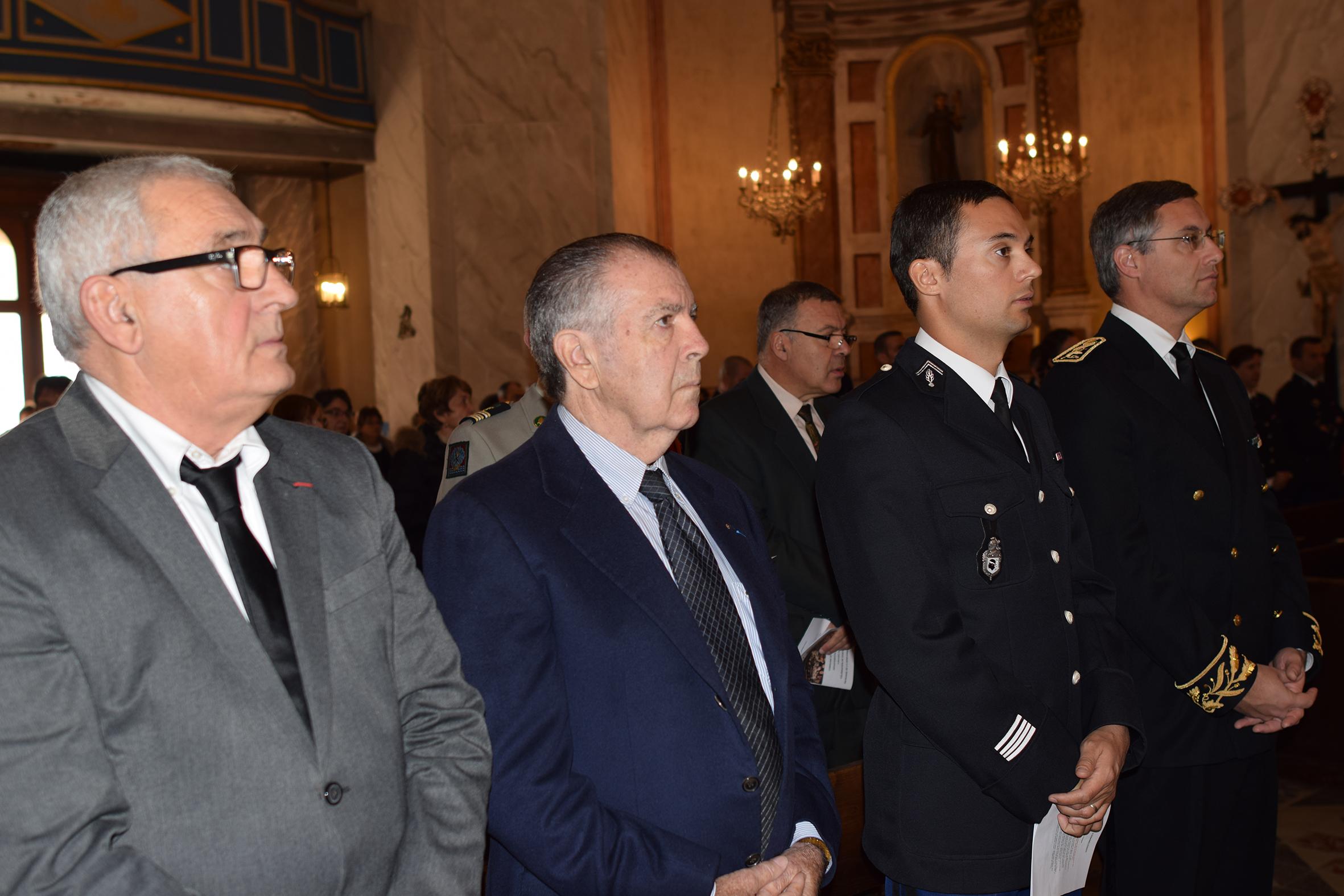 Les Gendarmes de Calvi-Balagne ont fêté leur Sainte Patronne Geneviève