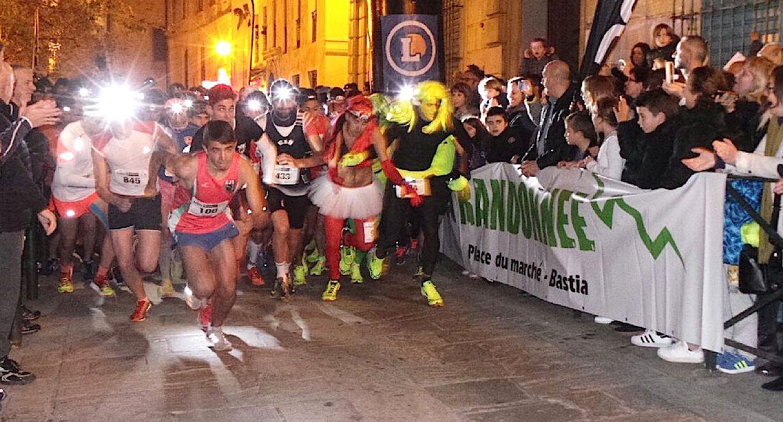 Spassighjata in Bastia : Les lauriers pour Ayadi (AJB) et les 999 autres participants