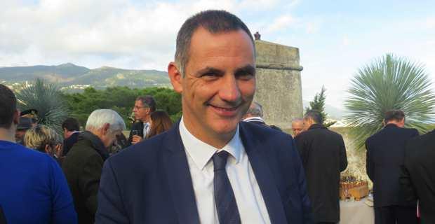 Gilles Simeoni, président du Conseil exécutif de la Collectivité territoriale de Corse (CTC), et président du tout nouveau Parc naturel marin du Cap Corse et de l'Agriate.