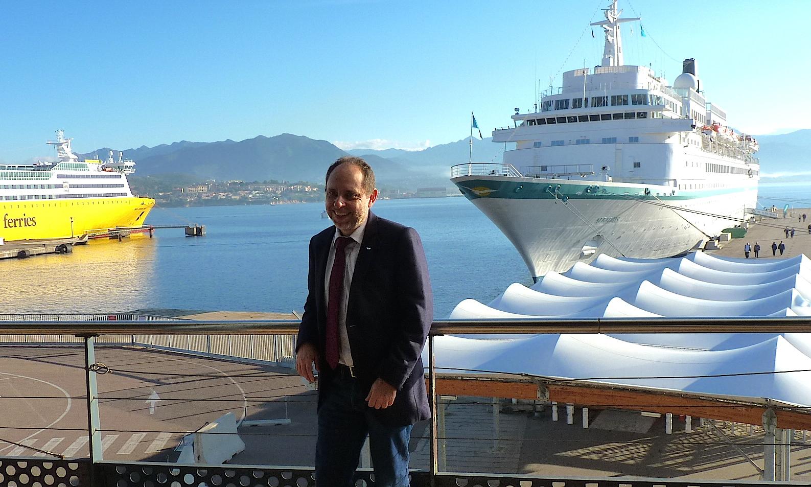 Croisières : Record historique avec plus de 500 000 passagers pour Ajaccio, 2e port français