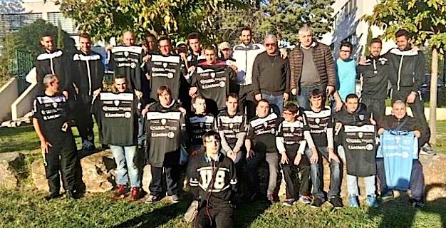 Solidarité et partage  : Quand le CA Bastia joue les Pères Noël à l'ESAT