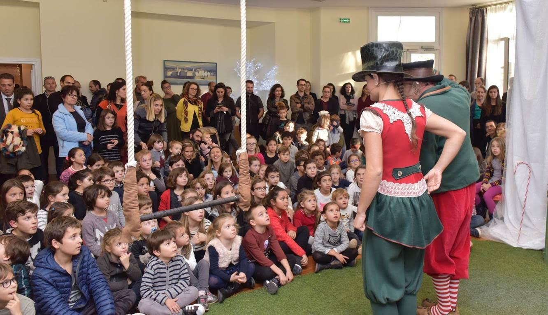 Le Père Noël s'invite à la Collectivité Territoriale de Corse
