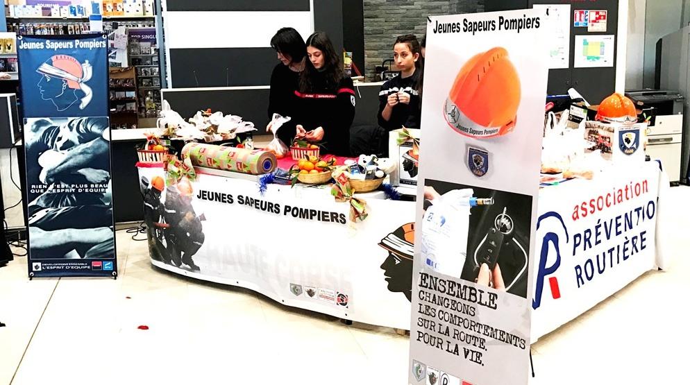 Les JSP Plaine misent sur la prévention avant les fêtes !
