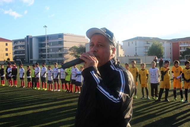 Didier Bicchieray, président de la section jeunes du FCSC compte sur votre participation